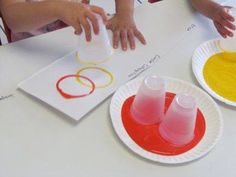Olympic Rings - Using Cups