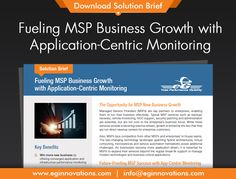 Download Solution Brief: Fueling MSP Business Growth with Application-Centric Monitoring