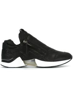 the best attitude 051e9 4d7c8 CINZIA ARAIA transparent detail zipped sneakers.  cinziaaraia  shoes   sneakers