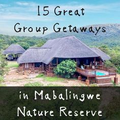 Finding a house that is big enough for the whole lot can be tough, so we've rounded up 15 of our favourite self-catering houses in the Mabalingwe Nature Reserve. Game Reserve, Nature Reserve, Finding A House, Catering, Gazebo, The Cure, Surfing, African, Houses