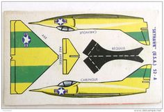 DECOUPAGE BANANIA AVION AVIATION SKYHAWK U.S.A. 52 A