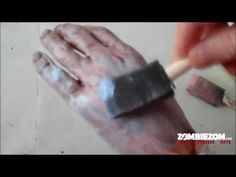 Make a Zombie Halloween Prop - Zombie Crafts - Zombie Hands and Feet by ZOMBIEZOM - Woohoo! I finally found a tutorial :D