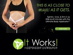 This is as close to Magic as it gets   www.anabreedon.myitworks.com
