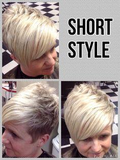 Short Style, Blonde Hair