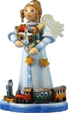 """Sammlerfiguren Jahresengel 2008 """"Spielsachen für die Kleinen"""""""