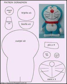 Cartamodello Doraemon