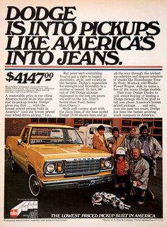 1976 Dodge D100 Ad