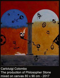 Philosopher Stone, Riolo Terme, Italy, Italian, art, arte, pittura, painting, Carloluigi Colombo,
