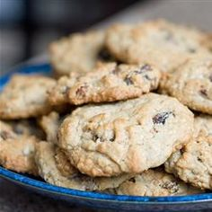Oatmeal Chocolate Chip Cookies - No eggs required! So yummy - my new favorite recipe