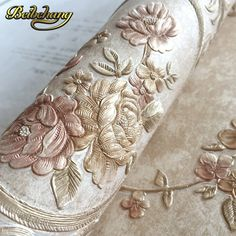 Cheap embossed wallpaper, Buy Directly from China Suppliers:beibehang European garden three-dimensional round net fine embossed wallpaper warm bedroom living room TV wall wallpaper