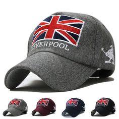 5229fb63f9af0 Sombrero moda populares inglaterra gorra de béisbol del Snapback marcas  algodón Caps moto hombres mujeres Casual