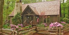 SHARING IS CARING!01200 Wade Cottage in Wade Hampton   Image Source READY FOR YOUR NEW CABIN? Click here to find builders, cabin kits, plans, and designers in your area!