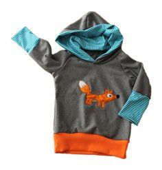 Pullover - Hoodie Fuchs * Hingucker *  - ein Designerstück von Lieblingssachen-jessicapahnke bei DaWanda