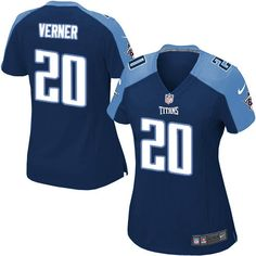 5b2ad1d7e ... Women Nike Tennessee Titans 20 Alterraun Verner Limited Navy Blue  Alternate NFL Jersey Sale ...