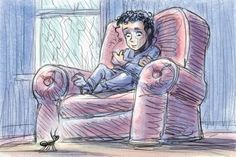 Edward the Armchair (a flash fiction fantasy story)