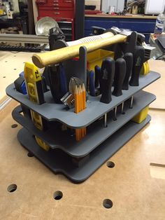T-loc Systainer Hand Tool Caddy Insert - DIY CNC - free plans provided