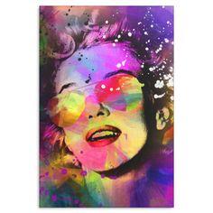 Canvas Wall Art Marilyn 3