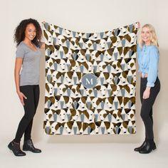 Lots of Parson Jack Russell Terriers dogs pattern Fleece Blanket