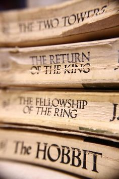 J.R.R. Tolkien- The Hobbit and The Lord of the Rings Series (Good for British Literature)