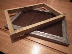 Paper Making Deckle and Mould by ScholaForis on Etsy, £25.00