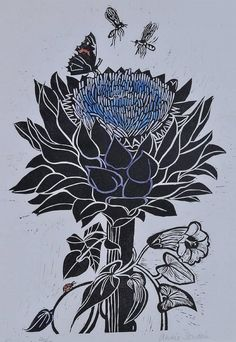 Annie Soudain (Rye Society of Artists) Lithograph,