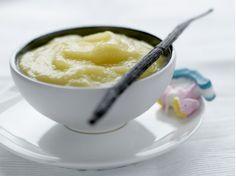 Applesauce & vanilla