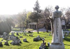 """93 Likes, 2 Comments - Laurel Hill Cemetery (@laurelhillcemetery) on Instagram: """"Take in LHC's beautiful scenery and rich history during tonight's twilight tour, """"Buried, Not…"""""""