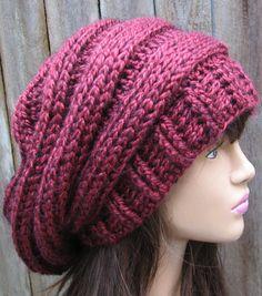 Crochet Hat - Slouchy Hat Pattern