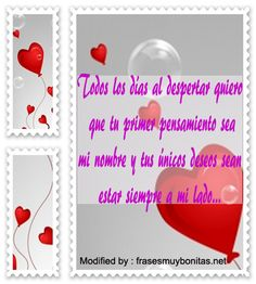 mensajes romànticos de buenos dìas para mi amor,mensajes de buenos dìas para mi amor para facebook: http://www.frasesmuybonitas.net/frases-lindas-para-despertar-a-una-mujer/