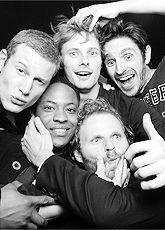 The k-nig-hts of BBC Merlin.  Playful men are men I like...