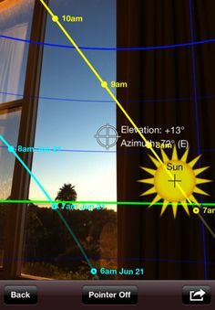 Want to know where the sun will set in augmented reality style? Good for photographers and video people.