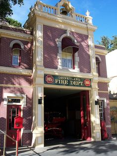 Disney Fire Department with Walt's Apartment