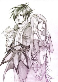 W.I.T.C.H - Caleb and Cornelia by Sardiini on DeviantArt
