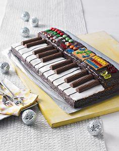 Keyboard-Kuchen - Ein saftiger Rührteig mit Mandarinen als Keyboard
