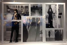 """CHANEL,London,""""introducing a window of opportunity"""", pinned by Ton van der Veer"""