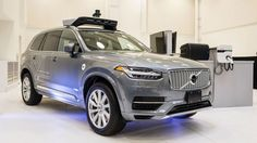 Uber has grounded its fleet of self-driving cars pending an investigation into the crash of an Uber autonomous vehicle in Arizona, a Self Driving, Driving Test, Car Ins, Volvo, Transportation, Arizona, Vehicles, Uber Company, Usa