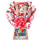 HAPPY BIRTHDAY GALAXY CHOCOLATE BOUQUET -SWEET GIFT HAMPER | eBay Birthday Badge, Birthday Gifts, Happy Birthday, Chocolate Hampers, Chocolate Gift Boxes, Cadbury Twirl, Galaxy Chocolate, Personalized Gift Cards, Sweet Trees