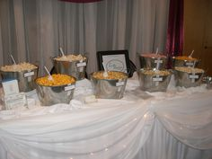 Gourmet Popcorn Bar by Lasting Impressions by Amy