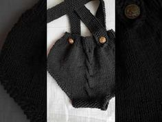 little half - overal knitted in 2 pieces,nice and sweet Make It Yourself, My Favorite Things, Knitting, Nice, Crochet, Youtube, Tricot, Breien, Stricken