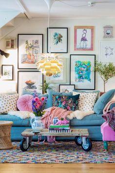 Fall Home Decor, Cheap Home Decor, Living Room Decor, Bedroom Decor, Entryway Decor, Colourful Living Room, Colourful Lounge, Colorful, Home Interior Design