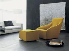 Armchair with pouff by Studio Laviani Molenti & Cie (Mondomio) 3500€