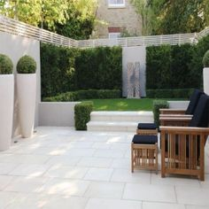 Sawn beige sandstone paving patio - Google Search