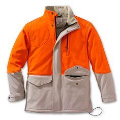 Mansfield Blaze Orange Soft Shell Jacket from Filson