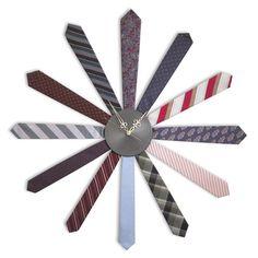 DIY Tie Clock!!