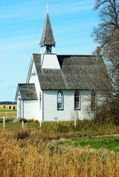Little white church #CountryChurches