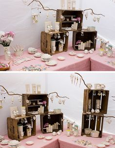 LOVE this display!!!!!!!! renegade craft fair chicago by madebyhank., via Flickr