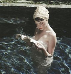 Reading and Swimming - my favorite things
