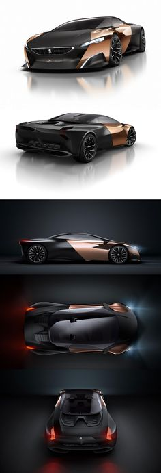 Peugeot ONYX Concept I think it would look better all black RG
