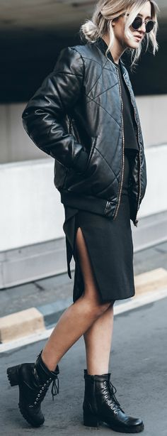 outlet store f11c0 f8322 Style Tips On How To Wear A Bomber Jacket - Bomber Jacket Outfits