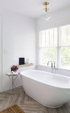 three / smart translations - Terracotta Design Build Co. White Bathroom, Master Bathroom, Herringbone Tile Floors, Superior Homes, Bathroom Photos, Bathroom Ideas, Bathroom Inspo, Contemporary Bathroom Designs, Modern Contemporary